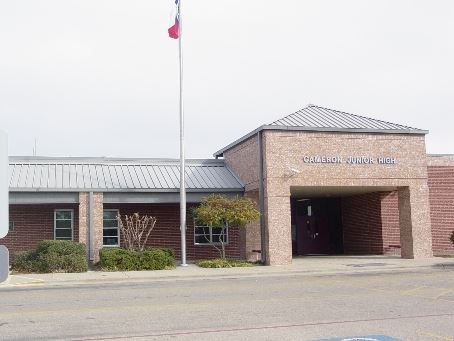 The front of Cameron Junior High