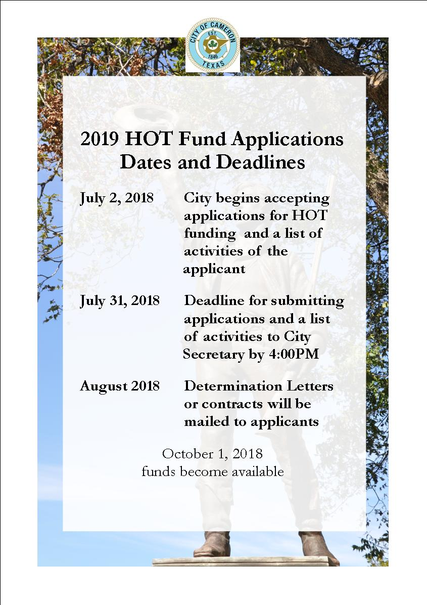 HOT Funds 2019